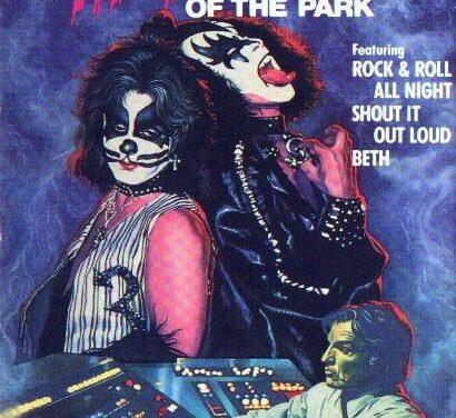 Kiss conocen al fantasma del parque