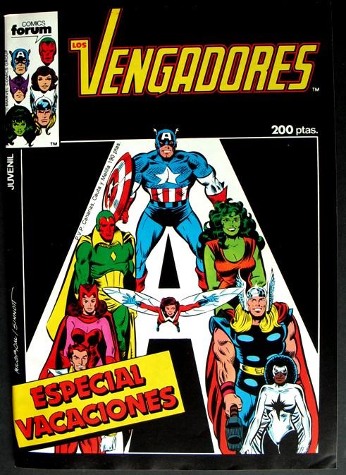 Especial Vacaciones  1986 - Forum - Los Vengadores