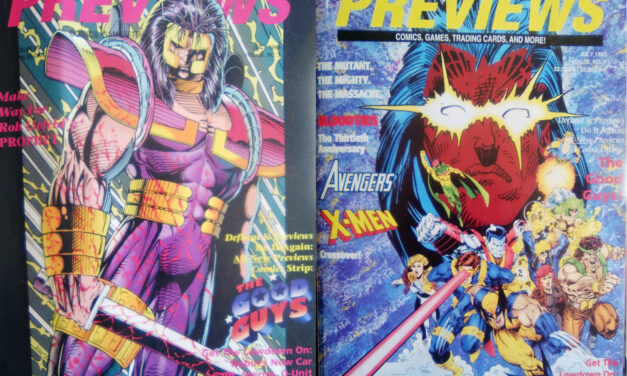 Previews Julio de 1993: superhéroes, pistolones y…. Magic
