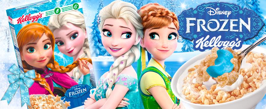 ¡Pruebo los cereales de Frozen!