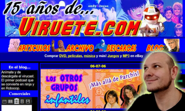 Viruete.com cumple 15 años