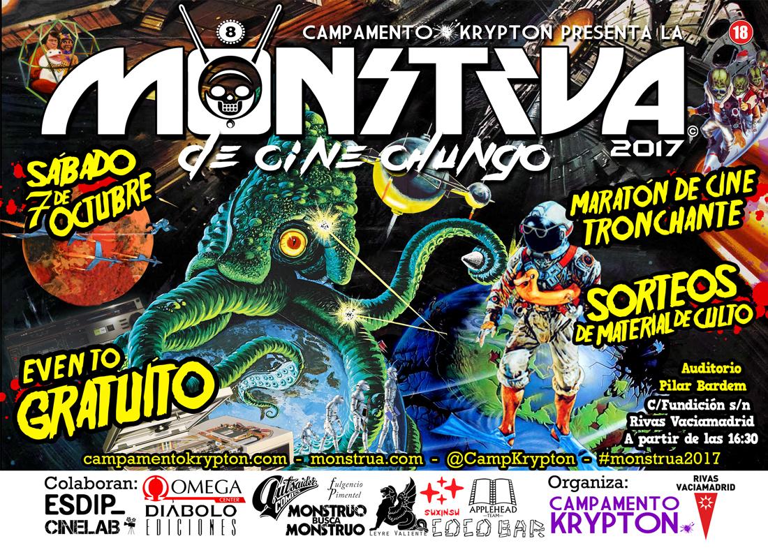 Llega 8ª Monstrua  de cine Chungo, destapando pelis que hubieras preferido olvidar…