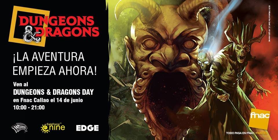 Rolazo! Dungeons and Dragons en directo… ¿y en la FNAC?