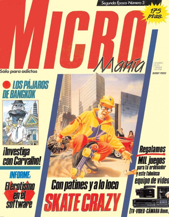 Revisteando: 30 años de mi primera Micromanía